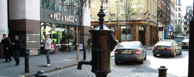 Minde-Pumpen i Broadwick Street